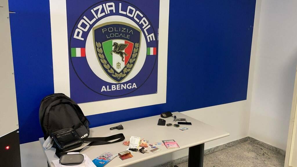 Furto Albenga Polizia Locale