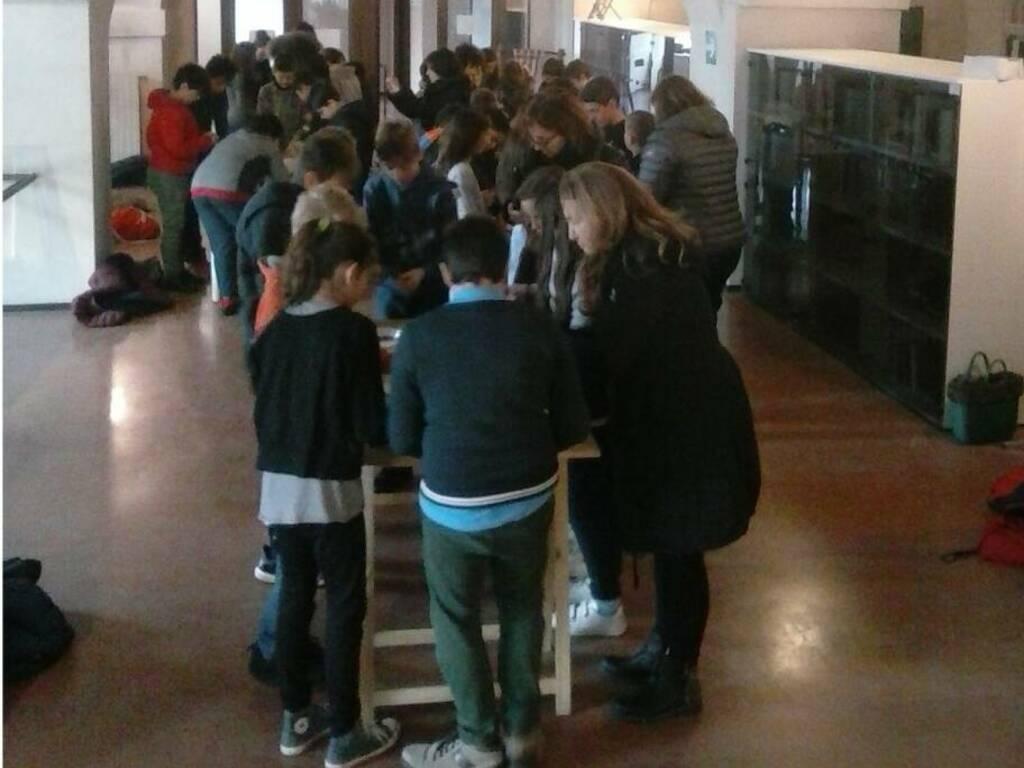 Studenti Museo Archeologico Savona