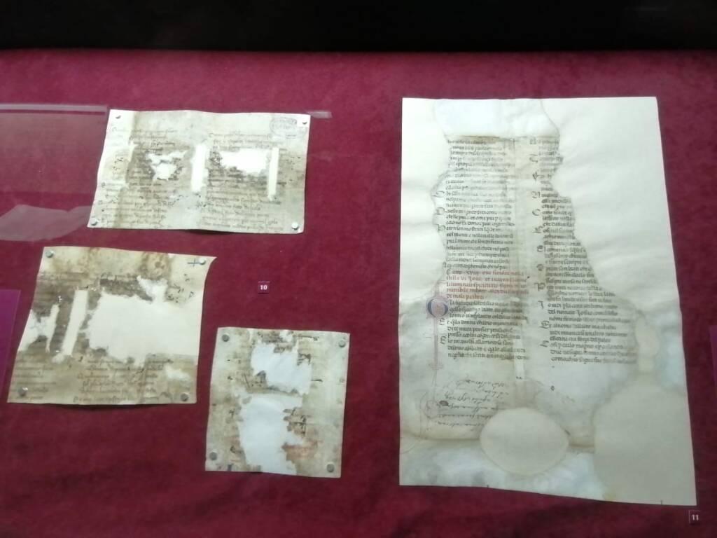 """Genova """"Dante e la Liguria"""" mostra manoscritti Società Economica Chiavari"""