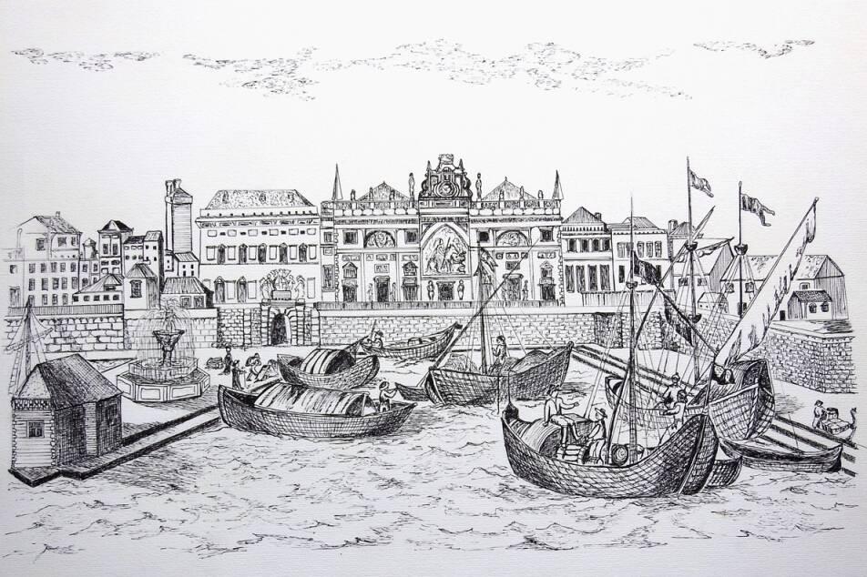 """Genova """"Legni damare"""" mostra disegni Maria Grazia Dallera"""