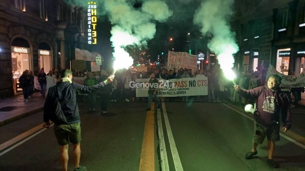 Manifestazione no green pass del 9 ottobre