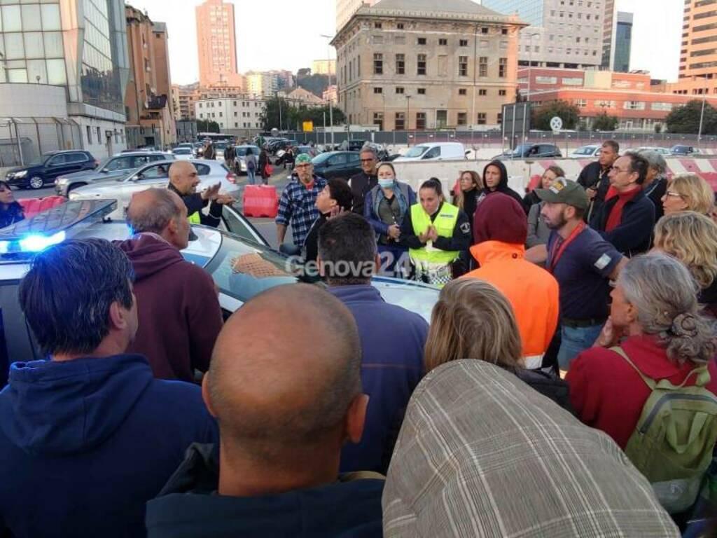 proteste contro green pass 16 ottobre