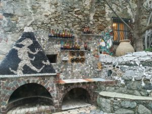 forno esterno villa